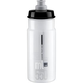 Elite Jet Drikkeflaske 550ml, clear/grey logo
